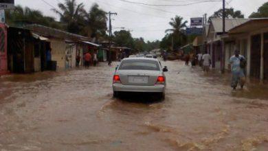 La abundante lluvia que arroje el fenómeno podría dejar inundaciones en diferentes partes del país, advirtió el SINAPRED.