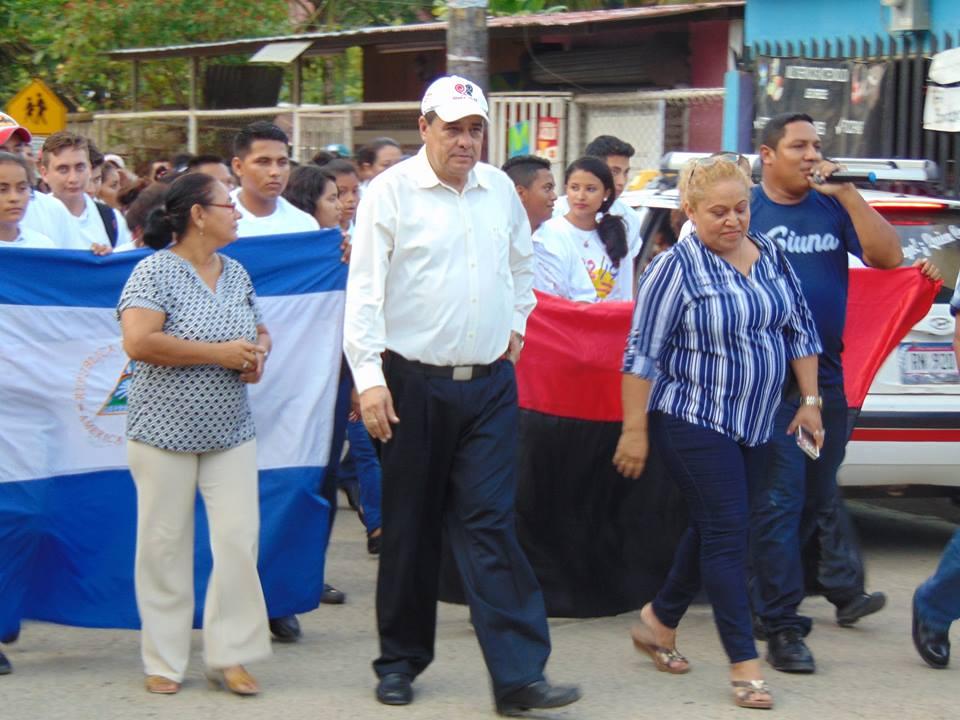 Otilio Duarte (Centro), ha sido electo como alcalde del municipio de Siuna.