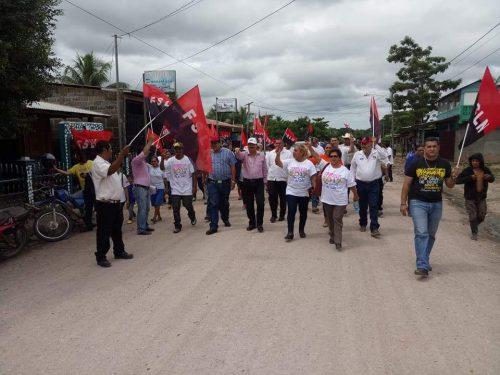 Caminatas, visita casa a casa y concentraciones han sido parte de la estrategía del FSLN que busca retener la alcaldía de Siuna