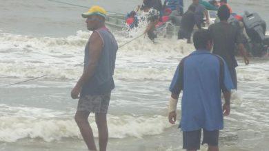 A pocas horas que el centro de la tormenta tropical NATE golpe directamente Bilwi continua las labores de evacuación. Foto Cortesía / Radio Bilwi Stereo