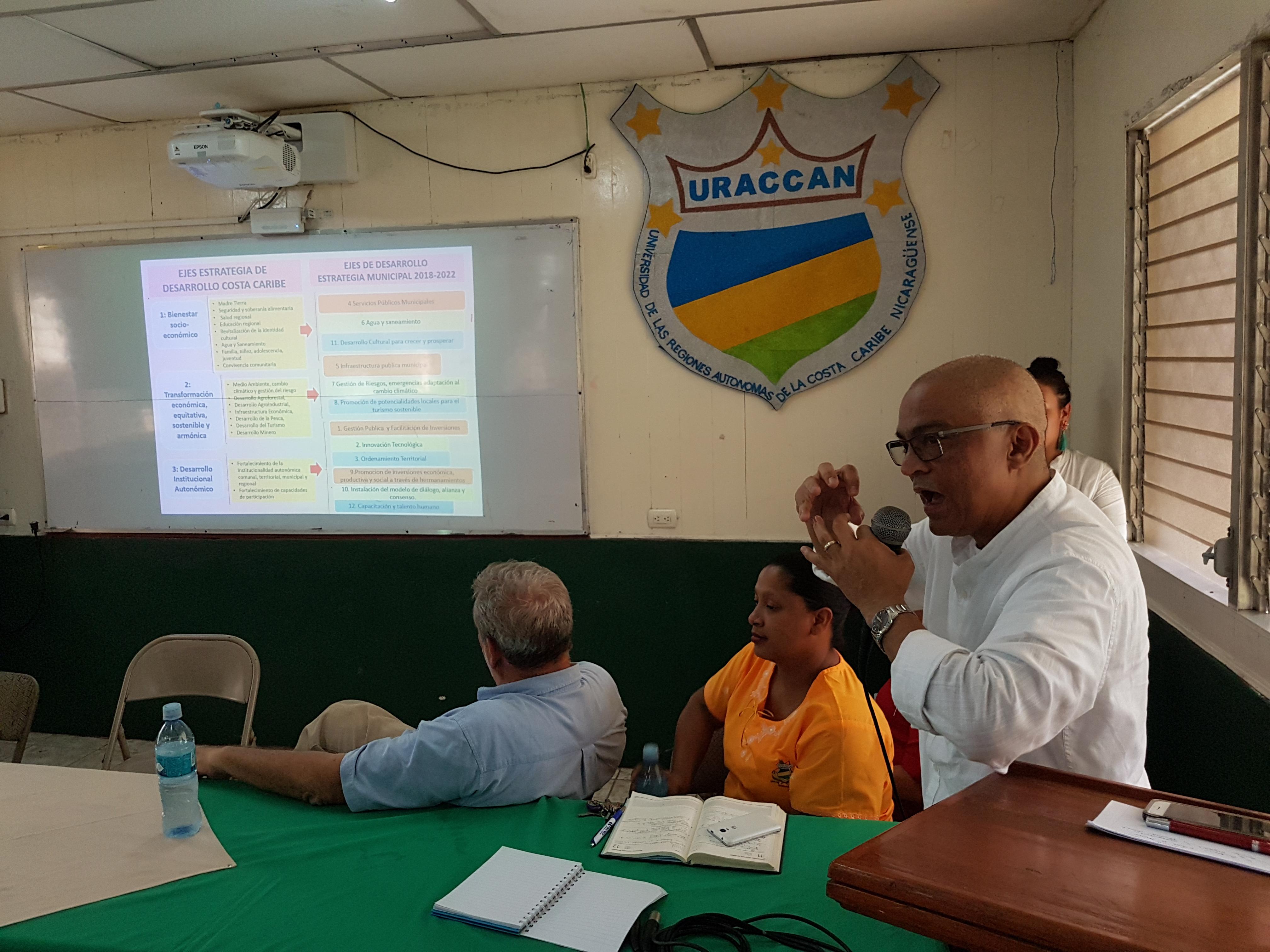Presentan plan de inversiones en fortalecimiento a la autonomía regional