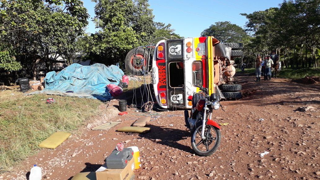 Afortunadamente no hubieron heridos de gravedad. Marlon Pérez|RUS