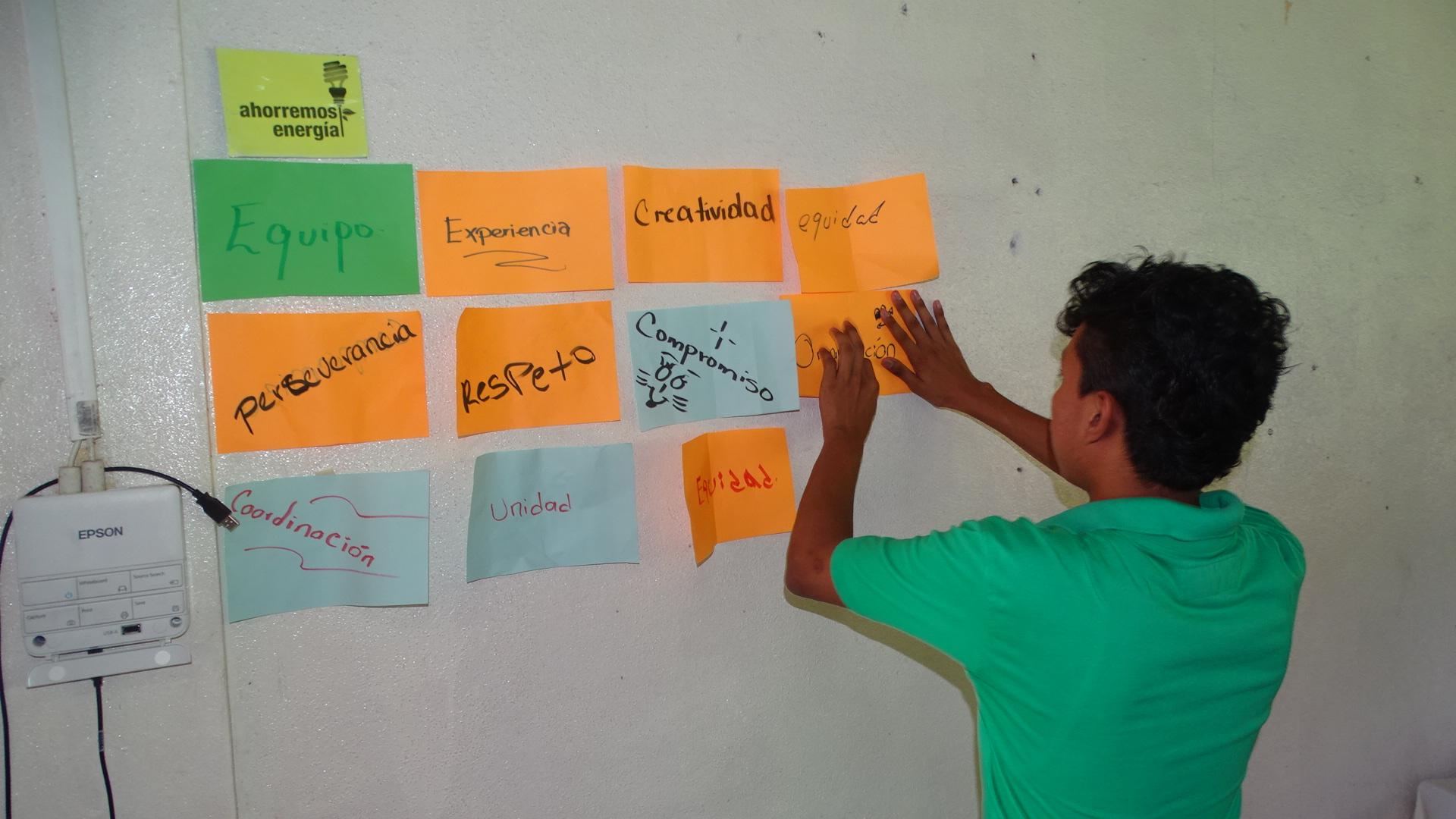Durante seis días los jóvenes de las diferentes carreras de todos los recintos de URACCAN recrean su experiencia como agentes de cambio.