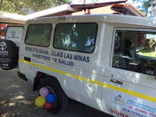 En Siuna por el hospital de referencia del Triángulo Minero, Prinzapolka y Mulukuku, no dan abasto con una sola ambulancia.