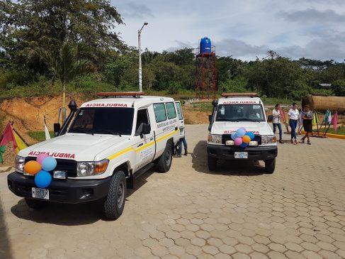 Las ambulancias vienen equipadas para el traslado adecuado de los pacientes.