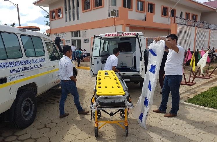 Las ambulancias están equipadas para el traslado adecuado y seguro de los pacientes.