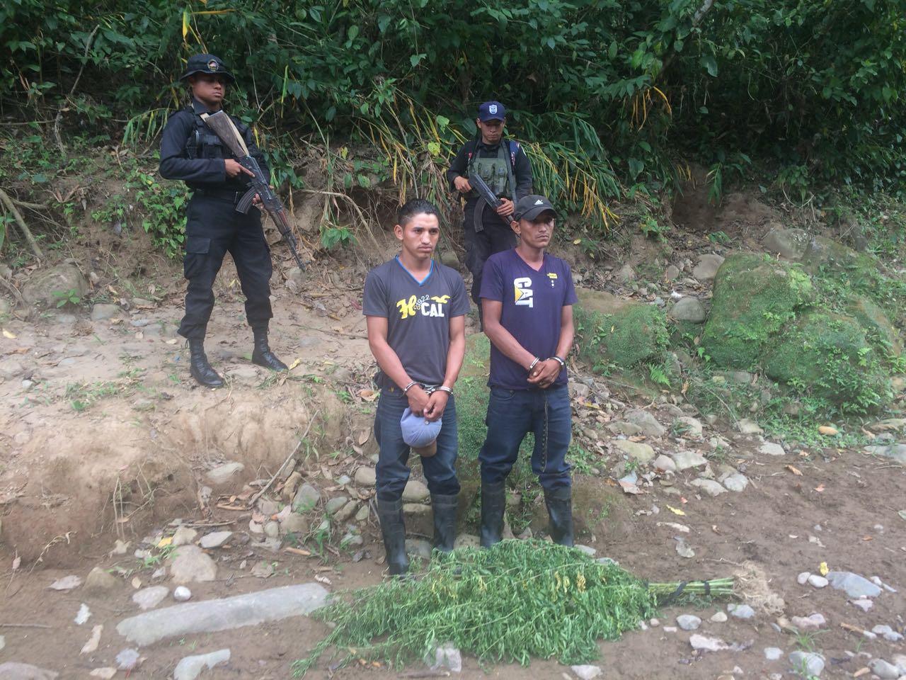 Uno de los detenidos estaba circulado por el delito de homicidio en el municipio Quilaly, departamento de Jinotega.