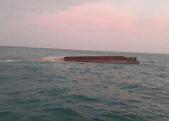 Cuantiosas pérdidas deja naufragio en el Caribe Sur de Nicaragua