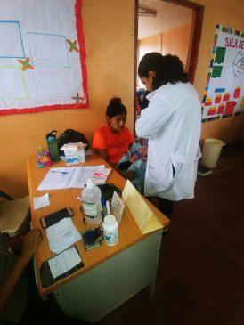 Pediatría fue una de las especialidades que atendió a más de 200 niños en la comunidad El Hormiguero.