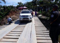 Inauguran puente en importante vía productiva de Puerto Cabezas