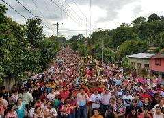 Miles veneran a Esquipulas, el Santo Patrono de Siuna