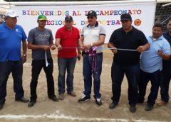 Inauguran estadio de fútbol campo con Campeonato Regional