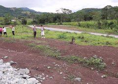 Nace el barrio número 25 en Bonanza donde 83 familias edificaran sus viviendas