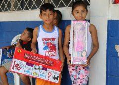 16,235 niños y niñas reciben juguete en el municipio de Siuna