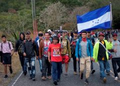 Arriba a Guatemala caravana de migrantes procedente de Honduras