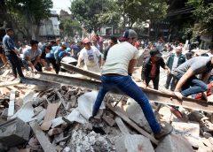 Más de 800 réplicas se han dado después del fuerte sismo de magnitud 7,1 que golpeó a México